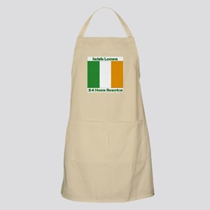 Irish Lover 24 Hour Service BBQ Apron