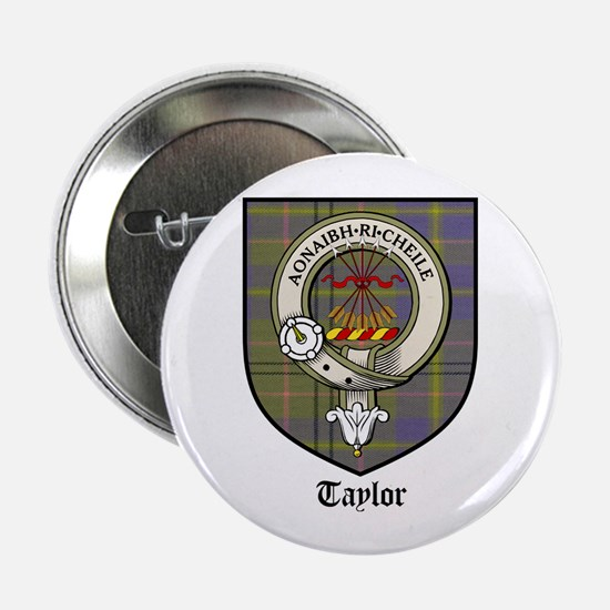 "Taylor Clan Crest Tartan 2.25"" Button (10 pack)"