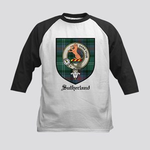 213c44caac95d4 Clan Sutherland Kids Baseball T-Shirts - CafePress