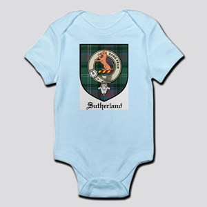 Sutherland Clan Crest Tartan Infant Creeper