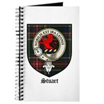 Stuart Clan Crest Tartan Journal