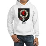 Stuart Clan Crest Tartan Hooded Sweatshirt