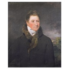 Portrait of Greswold Lewis (d.1819) of Malvern Hal Poster