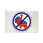 Stop Breeding Hate Rectangle Magnet (100 pack)