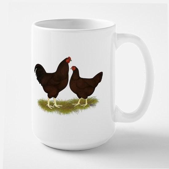 Buckeye Chickens Large Mug