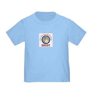 First Birthday Baseball Toddler T Shirts