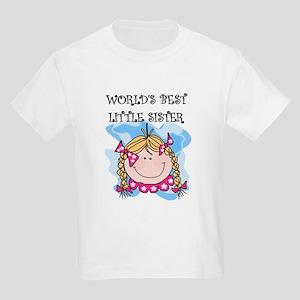 Blond Little Sister Kids T-Shirt