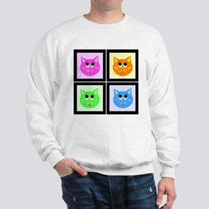 Pop Art Pigs Sweatshirt