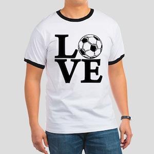 Soccer LOVE Ringer T