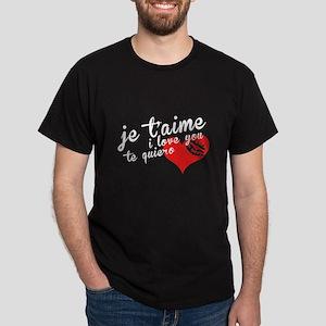International Love Dark T-Shirt