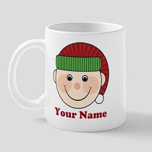 Personalized Christmas Elf Mug