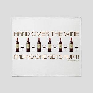HAND OVER... Throw Blanket