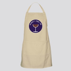 MOMMY'S SIPPY CUP (BLUE) Apron