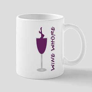 WINE WHORE PURPLE Mug