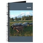 Journal (blank) - Meadow and Mountain #1
