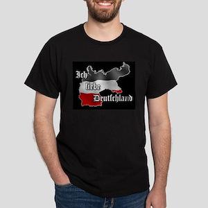 Ich liebe Deutschland Black T-Shirt