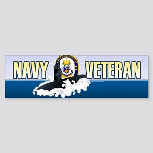 Navy Submariner SSN-22 Sticker (Bumper)