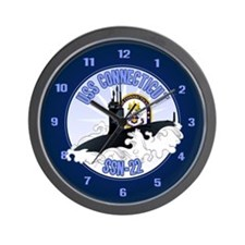 Navy Submariner SSN-22 Wall Clock