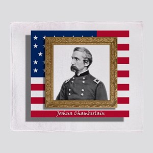 Joshua Chamberlain Throw Blanket