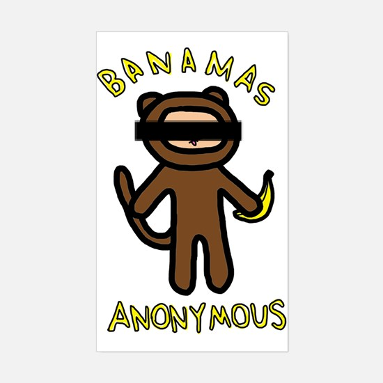 Banamas Anonymous Decal