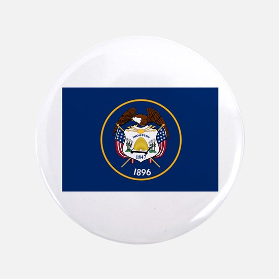 "Utah State Flag 3.5"" Button"