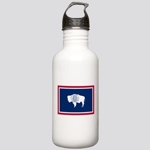 Wyoming State Flag Stainless Water Bottle 1.0L