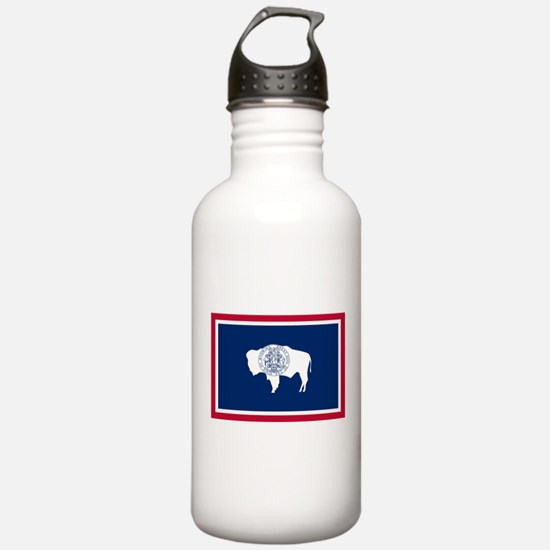 Wyoming State Flag Water Bottle