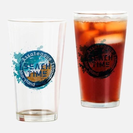 Cute Assateague island Drinking Glass