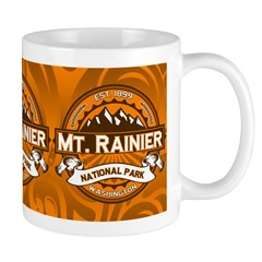 Mt. Rainier Pumpkin Mug