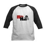 Ride Hard Kids Baseball Jersey