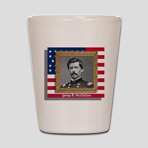 George B. McClellan Shot Glass
