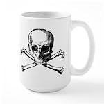 Skull & Cross Bones Large Mug