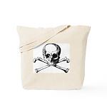 Skull & Cross Bones Tote Bag