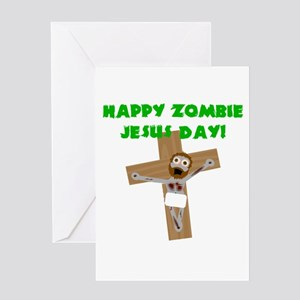 Happy Zombie Jesus Day Greeting Card