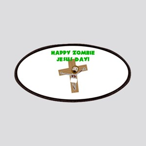 Happy Zombie Jesus Day Patches