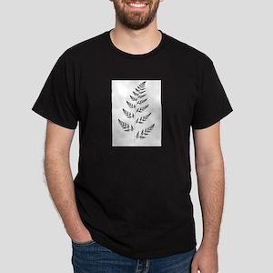 Fractal Fern Ash Grey T-Shirt