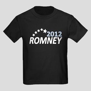 Vote Romney 2012 Kids Dark T-Shirt