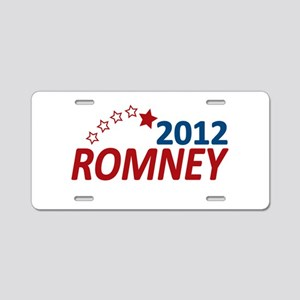 Vote Romney 2012 Aluminum License Plate