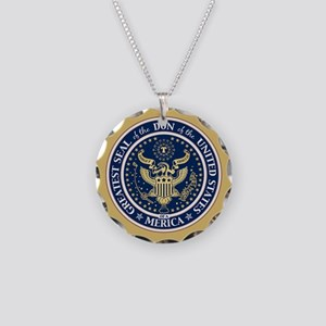 Seal of the Don Necklace Circle Charm