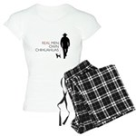 Real Men Own Chihuahuas Women's Light Pajamas