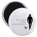 Real Men Own Chihuahuas 2.25