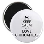 Keep Calm Chihuahuas 2.25