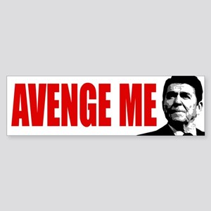 Avenge Ronald Reagan! - Sticker (Bumper)
