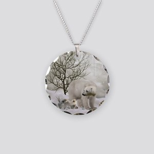 Awesome polar bear Necklace