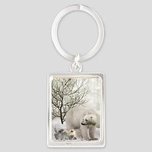 Awesome polar bear Keychains