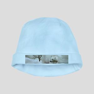 Awesome polar bear Baby Hat