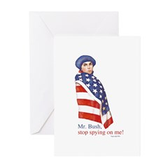 Young Patriot Greeting Cards (Pk of 10)