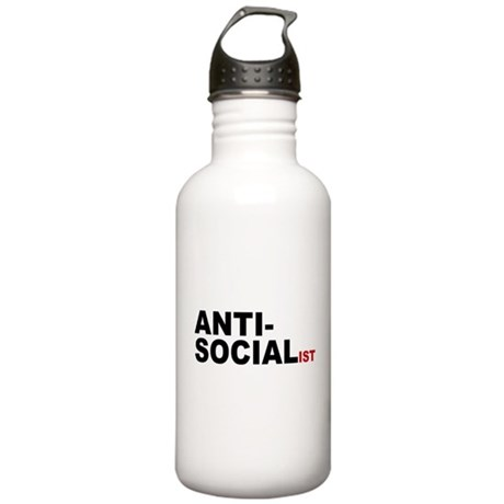 Anti Socialist Stainless Water Bottle 1.0L