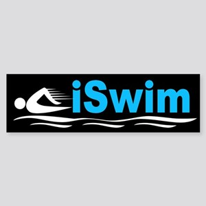 iSwim Sticker (Bumper)