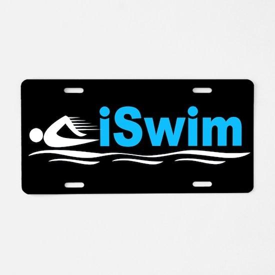 iSwim Aluminum License Plate